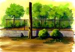 【0829】pixiv講座-アニメ背景美術教室・先生の作品(11) ほか