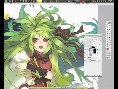【YouTube】[ Heavens ] speed drawing video