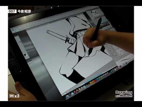 【YouTube】イラストレーター 今泉昭彦 Live Painting