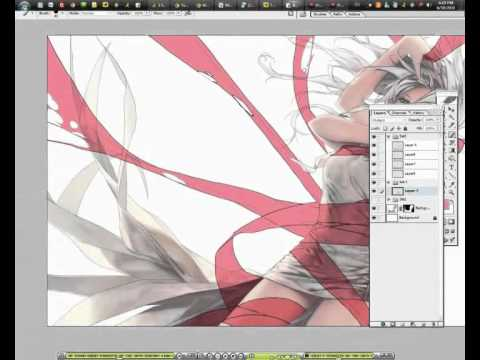 【YouTube】[ Toccata pt.2 ] speed drawing video