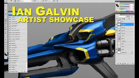 【YouTube】Artist Showcase: Ian Galvin [jet moto redesign]