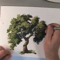 【YouTube】How to Paint Trees *preview*