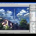 【YouTube】Step 02-04 タッチをつけながら彩色する4―IllustStudio 風景 テクニック