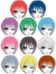 【メモ】 髪色と顔面偏差値のイメージサムネイル
