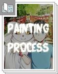 ぎんぎつね【Painting process】サムネイル