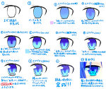 【メイキング】目の塗り方【SAI】サムネイル