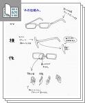 メガネと眼帯メモサムネイル