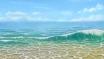 水面と波メイキングサムネイル