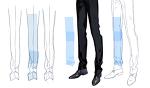 ズボンの皺の描き方サムネイル