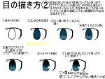 目の描き方(2個目)サムネイル