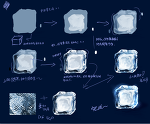 How to draw a ice ~描き方サムネイル