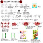 簡単な花の描き方+αサムネイル