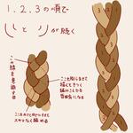 三つ編み講座補足サムネイル