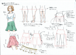 なんとなくフレアスカートの描き方サムネイル