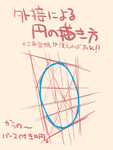 外接8角形による円の描き方 からの〜パース付きの...サムネイル