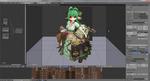3Dでキャラクターモデリングまとめ。サムネイル