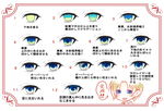 目のメイキング(自分用)サムネイル