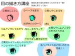 目の描き方講座ver.3サムネイル