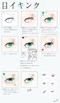 個人的な目の描き方・塗り方サムネイル