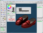 Metasequoia4のAO(アンビエントオク...サムネイル