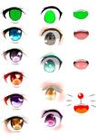目の描き方資料(おまけつき)サムネイル