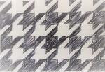 手描きでも【間違えず】綺麗に描ける千鳥格子サムネイル