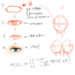簡単な目の描き方サムネイル