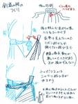 剣道(和服)の袴の後ろ側サムネイル