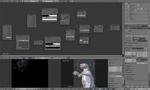 怪獣2のマテリアルノード設定サムネイル