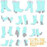【ポーズ/足】ブーツサムネイル