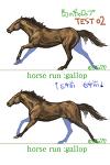 馬の描き方・番外編 馬の走り方ギャロップサムネイル