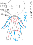 デフォルメ(SD)キャラの簡単な描き方サムネイル