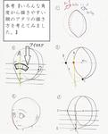 1ページでわかる『ななめ顔』の描き方サムネイル