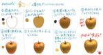 金りんごの書き方☆サムネイル