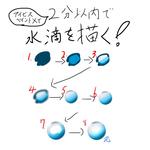 ibisPaint Xでの簡単な水滴の描き方(オ...サムネイル