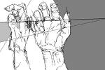 色々な角度から描く手サムネイル
