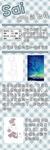 【中国語注意】SAI仿水彩的贴图画法教程サムネイル