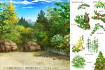 植物図鑑を見ながら葉のブラシを作ってみたサムネイル
