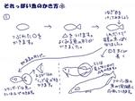 それっぽい魚のかき方サムネイル