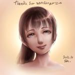メイキング動画付・白黒の絵をカラー化サムネイル
