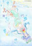 『人魚姫』+超詳しい水彩講座サムネイル